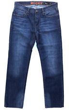 MOOKS Jeans 'STRAIGHT' Indigo Blue W34 L32 EUC RRP $189 Mens