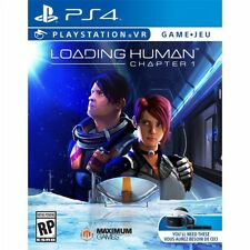 PS4 Loading Human Chapter One 1 VR Virtual Reality NEW Sealed Region FRee USA