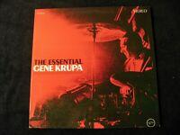 Gene Krupa The Essential Gene Krupa LP Verve V6-8571 1964 VG+
