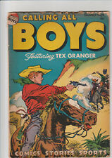 Calling All Boys #15 (Jan 1948, Parents) G+ Tex Granger