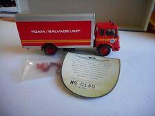 Corgi FS 22703 Bedford TK Foam Salvage Tender Isle of Wight+Mir+Ltd Ed Cert+Box