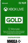 12 Monate Xbox Live Gold Mitgliedschaft Card - Xbox One & 360 Download Code - EU