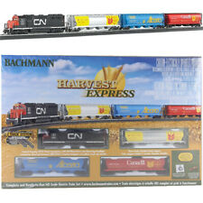 Bachmann 00735 Harvest Express Electric Train Set w/ E-Z Track HO Scale
