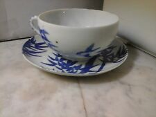 Taza y platillo de té