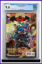 Superman Batman #78 CGC Graded 9.6 DC January 2011 White Pages Comic Book.