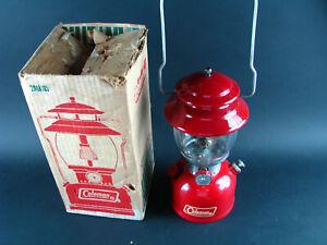 VTG 1970 Coleman Kerosene 200a 200A195 Single Mantle Lantern W/ Box RED untested