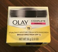 NEW *OLAY Complete Normal* UV365 Daily Moisture Cream w/ SPF15 Sunscreen 2 Oz