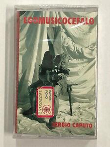 SERGIO CAPUTO - EGOMUSICOCEFALO - MC MUSICASSETTA NUOVA E SIGILLATA
