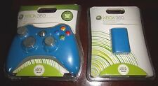(NEW) Authentic OEM BLUE COLOR Wireless Game Controller for Xbox 360 (VERY RARE)