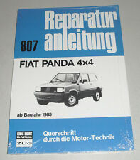 Manuale Riparazione Fiat Panda 4x4 Allrad, Poi 1983