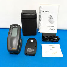 X-Rite 530 Color Spectrophotometer Densitometer XRGA and Panton Color Xrite530,