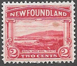Newfoundland Scott Number 132 SG 150 FVF H Cat C$2