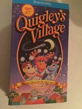 QUIGLEY'S VILLAGE, THE SUPER SHOOT FOR THE STARS SPACE SHIP, VHS