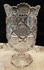 Elegant Glass Pedestal Vase/Candy Jar