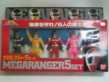 Power Rangers In Space - MEGARANGER 5 SET - Unopened - Japan Import 1998 Rare