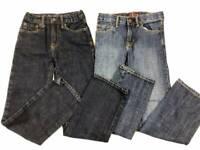 2 Boys Size 10 Slim GAP Blue Jeans Lot 1969 ~ EXCELLENT CONDITION ~ 10S