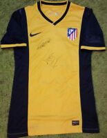 KOKE Gimenez Atletico de Madrid player issue & Signed PROOF shirt match un worn