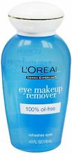 L'Oreal Dermo-Expertise Eye Makeup Remover 4 oz (Pack of 2)