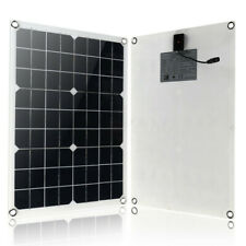 50W Solar Panel USB Battery Charger 12/5V + 10/20/30/40/50A PWM Solar