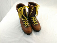 Montblanc Mens 10EE Leather Extreme Mountain Boots Waterproof