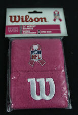 "WISCONSIN Football Pink Ribbon Breast Cancer Awareness 2"" Sport Wristbands"