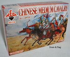 Redbox 72118 chino medio caballería 16th-17th C. escala 1/72 figuras de plástico.
