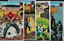 DARK HORSE - Comics Greatest World #2 #2 #3 #4 Motorhead etc    NM    ref:F3.356