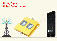 Dual Band 850/2100MHz WCDMA Cell phone Signal Booster Mobile Repeaters Amplifier