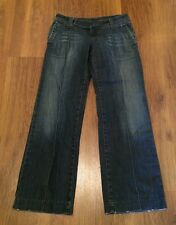 "Miss Sixty Basic Italy Women's Jeans Pleated Distressed Size 28 X 30"" Flare"