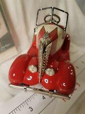 Hallmark Kiddie Classics Die Cast Car 1:6 Red Lincoln Zephyr 1938 Lux Le Lights