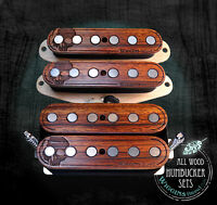 Wiggins Brand, hand wound HSS Strat set, Alnico, Wood, MADE TO ORDER