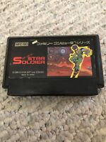 "Famicom Game-NES-"" Star Soldier "" -tested-US seller"