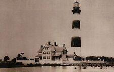 Morris Island Lighthouse, Charleston South Carolina, SC Light, House -- Postcard