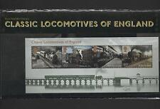GB 2011 CLASSIC LOCOMOTIVES OF ENGLAND STAMP PRESENTATION PACK