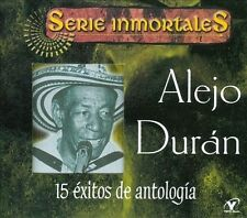 15 Exitos De Antologia (CD) by Alejo Duran