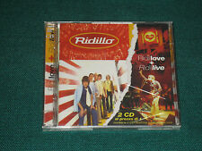 RIDILLO RIDILLOVE + RIDILLIVE  NUOVO SIGILLATO CD
