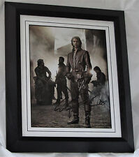 A963LP3M LUKE PASQUALINO SIGNED THE MUSKETEERS  FRAMED GUARANTEED AUTHENTIC