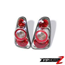 2002-2006 Mini Cooper S Euro Chrome Left+Right Tail Lights Brake Lamps Assembly