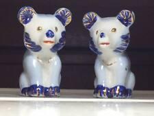 Vintage bear salt and pepper made in Japan