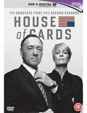 House of Cards Season 1 and 2 DVD 5051159512642 Kevin Spacey Robin Wright.