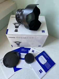 Zeiss 18mm 3.5 Distagon ZF (Nikon) Mount - As New