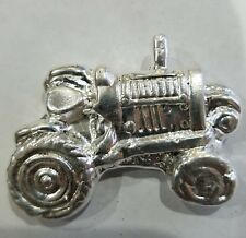 3.00 ozt .999 Fine Silver tractor ART BAR