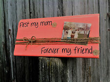 Handmade Wooden Sign for Mom...Great Mothers Day Gift