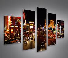 The Strip Las Vegas -MF Bild auf Leinwand Bilder Kunstdruck Wandbild Poster