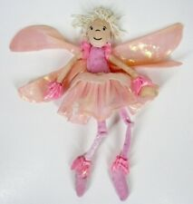 "Jellycat Sprite Doll Pink Mini Plush Soft Toy 9"" Stuffed Fairy Sparkle"