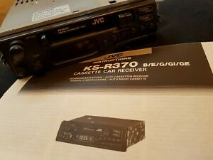 JVC KS-R370 Stereo Radio Cassette Player Vintage 90's Retro VW Ford Vauxhall BMW