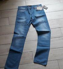 ALCOTT JEANS UOMO TG 46 W32 nuovo con etichette light blue blu chiaro