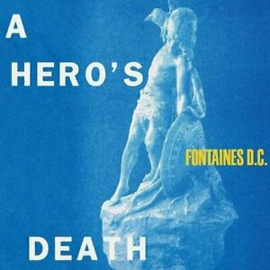 FONTAINES D.C. A HERO'S DEATH NEW SEALED LIMITED CLEAR VINYL LP IN STOCK