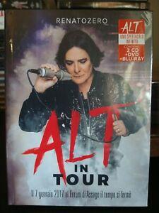RENATO ZERO ALT IN TOUR - 2 CD + DVD + BLU RAY nuovo sigillato