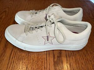 CONVERSE One Star Love Suede size 8.5 Rare
